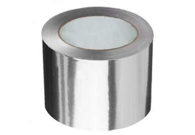 Скотч алюминиевый 100мм х 50м